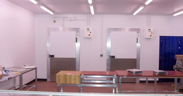 New Butchery Area installed Plymouth Cash and Carry