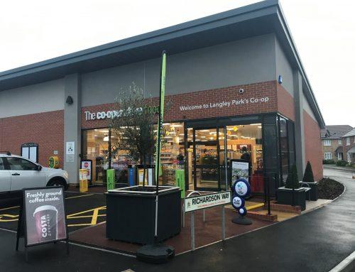 COOP A2L Low GWP Retail Supermarket Fitout